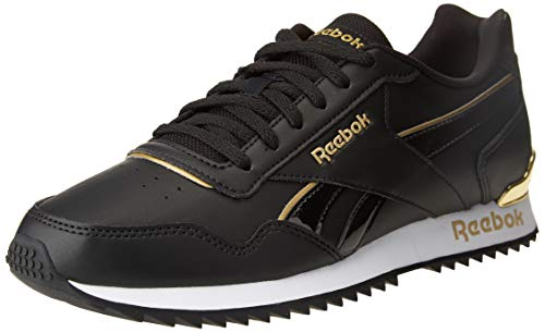 Reebok Royal Glide RPLCLP, Zapatillas de Running Mujer, Negro/Negro/Dormet, 37.5 EU