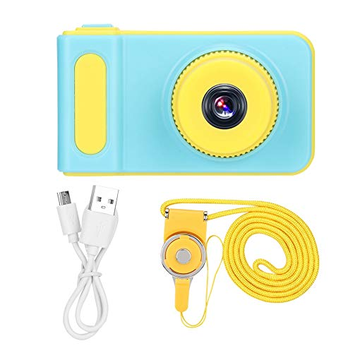 Kindercamera, draagbare kindercamera, mini ABS schattige digitale SLR-camera, cadeau-SLR-camera, 2.0inch-kleurendisplay, leuk en praktisch