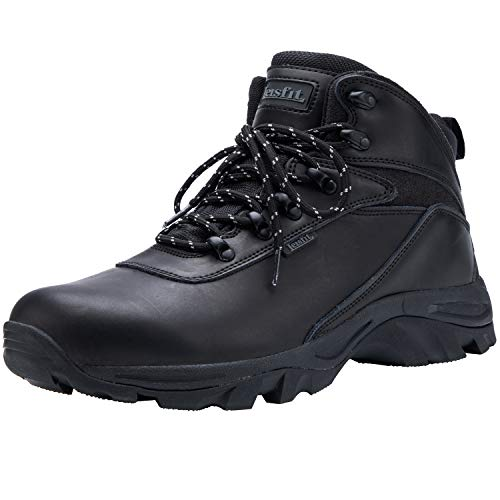 Leisfit Waterproof Insulated Casual Winter Snow Boots