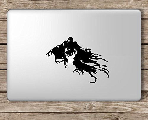 Dementor and Patronus Harry Potter - Apple MacBook Laptop Vinyl Sticker Decal, Die Cut Vinyl Decal for Windows, Cars, Trucks, Tool Boxes, laptops, MacBook - virtually Any Hard, Smooth Surface