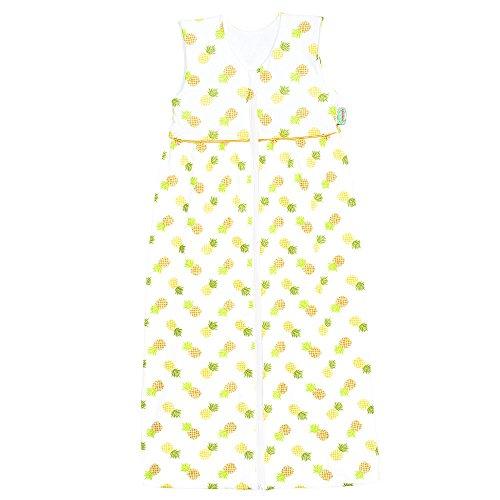 Odenwälder Jersey-Schlafsack Anni pineapple yellow, Größe in cm:90 cm