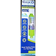 Clear2O CRV2006 RV and Marine Inline Water Filter - Reduces Bad Taste, Odors, Chlorine and Sendiment in Drinking, Cleaning, and Showering Water (Green)