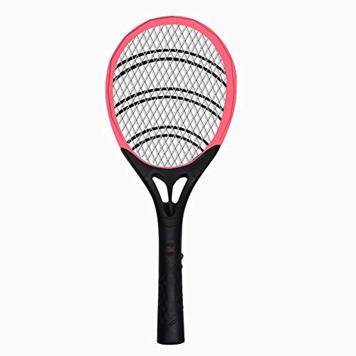 OWEM Aufladbare LED-Moskito-Klatsche-Mörder-elektrischer Tennisschläger-Handschläger-Insekten-Fliegen-Käfer Wasp ideal für Zuhause oder Reisen,B