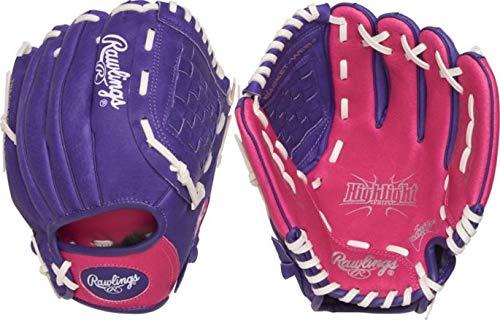 Rawlings 25,4 cm Youth Highlight Series Fastpitch Handschuh für Rechtshänder