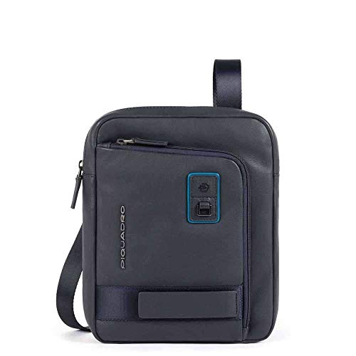 PIQUADRO Stubby Bag with Front Pocket Large Ipad Dioniso | CA1816W103-Blu