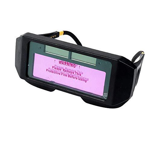 Auto oscurecimiento de la soldadura de la protección de los ojos, antideslumbrantes ojos Shied gafas gafas máscaras autos sombras