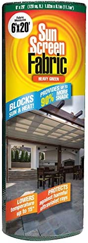 Easy Gardener Sun Screen Fabric Reduces Temperature Up to 15 Degrees Provides 75 More Shade product image