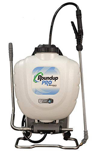 Roundup PRO 190413 Stainless Steel No-Leak Pump Backpack Sprayer for Yards and Gardens