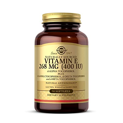 Solgar Vitamina E 268 mg (400 UI) Cápsulas blandas - Envase de 50