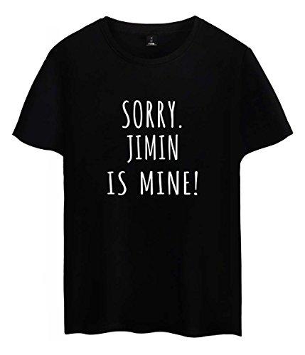 SIMYJOY Unisex Camiseta para Korea Pop Fanáticos Camiseta Korea Pop Fans Tshirt KPOP...