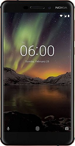 Nokia 6.1 (2018) (3GB + 32GB, Black-Copper)