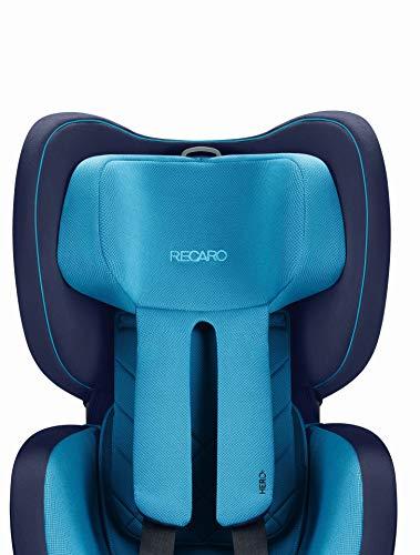Recaro Ersatzbezug/Replacement cover für Autositz Recaro Optiafix Xenon Blue (kein ganzer Autositz !!!)