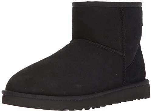 UGG Herren M Classic Mini Klassische Stiefel - Schwarz (Black Blk) - 46 EU