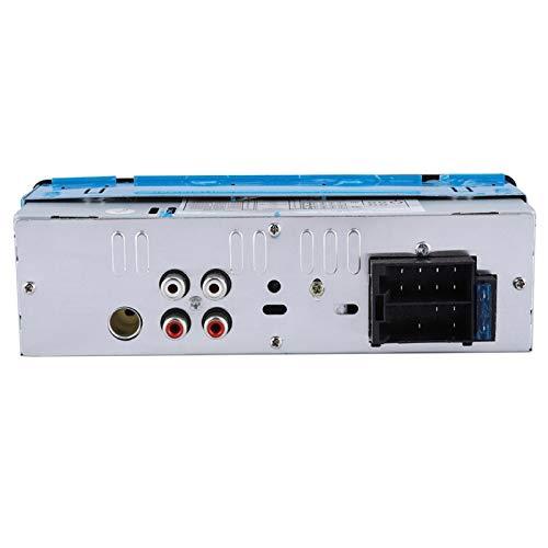 Cerlingwee Reproductor de Audio para automóvil, Audio estéreo para automóvil, USB/FM/SD Conectado, fácil de Instalar, Reproductor de MP3 para vehículo, Reproductor de MP3, vehículo para automóvil