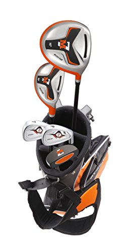 Precise M7 Junior Complete Golf Club Set for Children Kids - 3 Age Groups - Right Hand (Ages 6-8 Green, Right Hand)