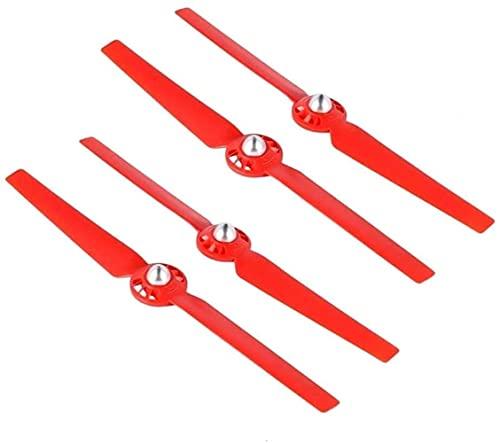 FBUWX 4 pz eliche per Yuneec Typhoon Q500 4K Drone a sgancio rapido autobloccante puntelli ricambio lama accessori (colore : rosso) efficiente