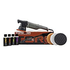 Fast is correcting with ultra-long 15mm throw Powerful 900w motor easily removes scratches, swirls, and defects from paint Ergonomic design for a fatigue-free experience Built-in safety features minimize the risk of burning the paint Complete kit of ...