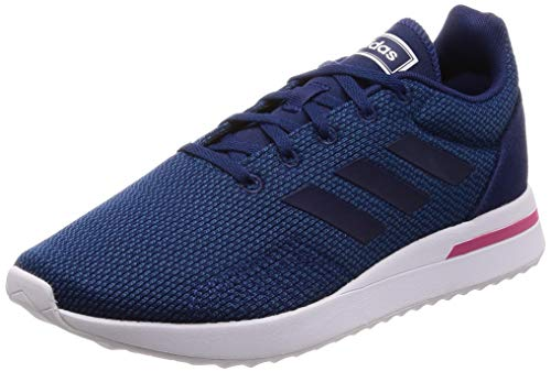 adidas Run70s, Damen Laufschuhe, Blau (Legend Marine/Dark Blue/Real Magenta Legend Marine/Dark Blue/Real Magenta), 39 1/3 EU (6 UK)