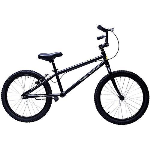 Hejok Bicicleta De Equilibrio Negro - Bicicleta De Equilibrio con Frenos, Bicicleta Equilibrio del Deporte NiñOs Adultos 20 Pulgadas Scooter Coche Entrenador Sin Pedal Bicicleta