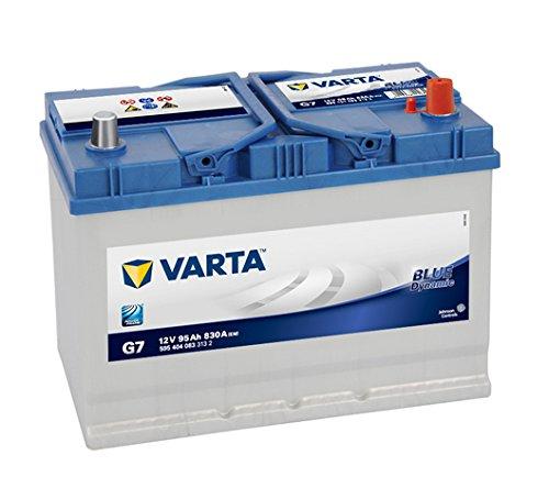 VARTA Blue Dynamic G7 Autobatterie 5954040833132, 12V 95Ah 830A/EN