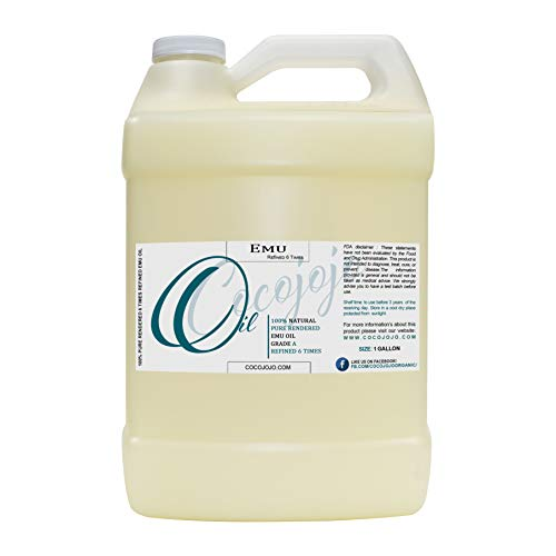 Emu Oil - 100% Pure Natural 1 Gallon Australian Emu Oil Hair Face Body...