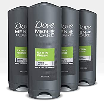 4-Count Dove Men+Care Body Wash and Shower Gel