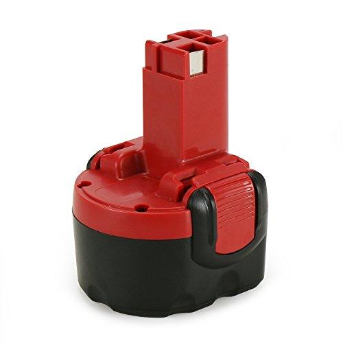 POWERAXIS 9,6V 3,0Ah Ni-MH Ersatzakku für Bosch PSR 960 GSR9.6 GDR 9.6 V BAT048, 2607335272, 2607335461,2607335260, BAT100, BAT119,BH984 BPT1041 22612,23609 32609