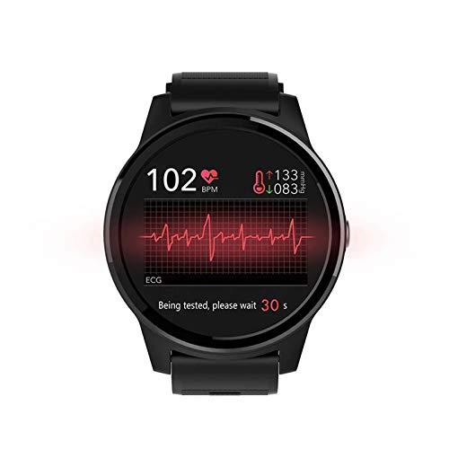 XYZK E101 ECG PPG Smart Watch North Edge Notificación Médica Cámara Remota Cámara De Corazón Presión Arterial Deportes Smart Watch Hombres Impermeable