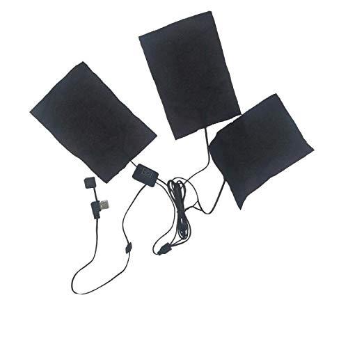 YONGYAO Kleidung Heizung Chip USB Heizblatt Graphen Heizblatt Kohlefaser Heizblatt Elektrische Heizplatte Elektrische Heiztuch