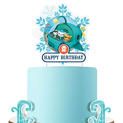 21 pcs Octonauts Cake Topper Cupcake Decorations Birthday Party Topper for Children