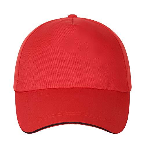 WAZHX Gorra De Béisbol De Algodón para Hombres Y Mujeres, Sombrero De Viaje para El Sol, Gorra De Voluntario Voluntario Talla Única 1