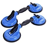 IMT Glass Suction Cup Dual Cups 2 Pack, Heavy Duty Vacuum Plate with Adjustable...