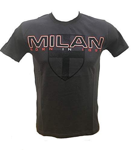 Camiseta de Manga Corta para Hombre A.C. Milan Camiseta de fútbol de...