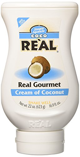 Real Kts-2358 Ciconut Squeeze Bottle Cream, 21 oz