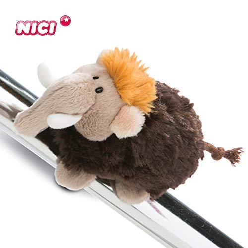 Nici Magnettier Mammut 10 cm – Magnet-Plüschtier Mammut – Kuscheltier Magnet Mammut –...