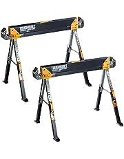 Toughbuilt 1 paar C700 werkbok zaagbokken in hoogte verstelbaar tot 1.300 kg