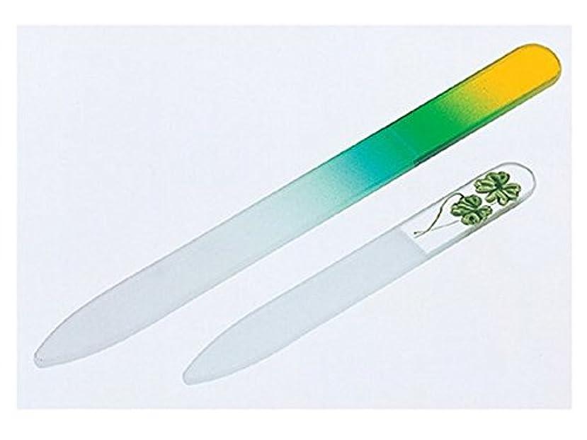 単独で光空のチェコ製ガラス製爪やすり大小セット ( 爪ヤスリ )