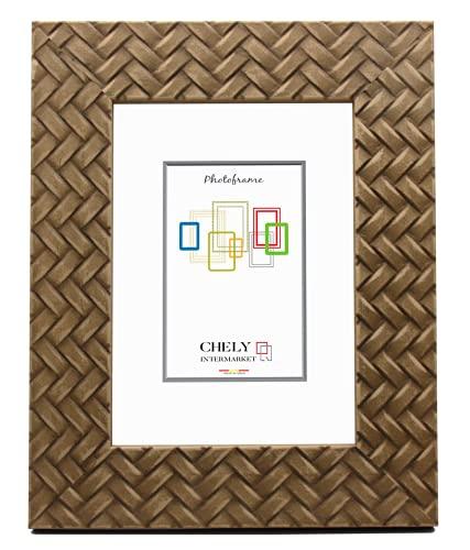Chely Intermarket, Marco de Fotos 20x25cm (Cerezo)   MOD-213   Estilo galería   Marco de Madera para Decoración de Casa   Fotografías de Boda   Listado de Precio.