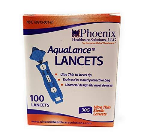 buy Aqualance 30G Lancets – 100 Diabetes Care
