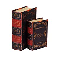 ブック型収納ボックス BOOK BOX 2個セット 28274