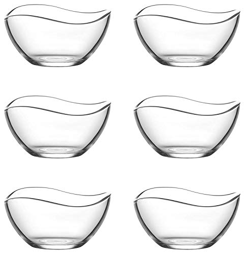 """Vira 2.25 Ounce Mini Glass Bowls 
