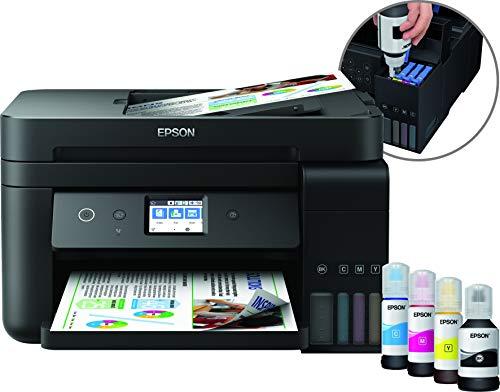 Epson EcoTank ET-4750 4800 x 1200DPI Inyección de tinta A4 33ppm Wifi - Impresora multifunción (Inyección de tinta, Impresión a color, 4800 x 1200 DPI, 250 hojas, A4, Negro)