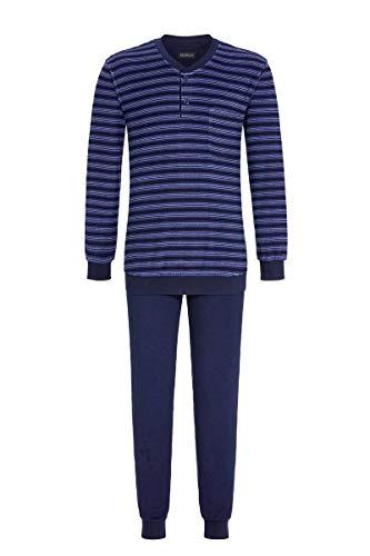 Ringella Herren Pyjama aus Stretchfrottee Night 52 0541225, Night, 52