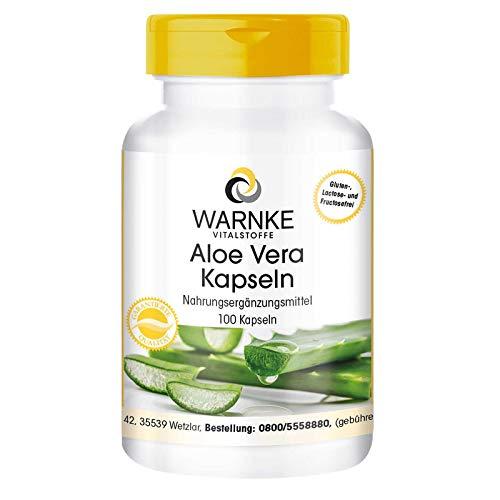 Warnke Vitalstoffe Aloe Vera -100 gélules
