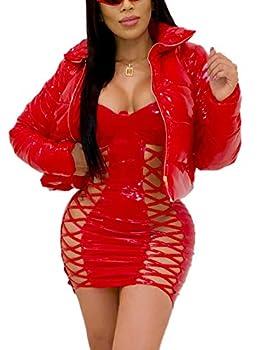 Best red puffer jacket women Reviews