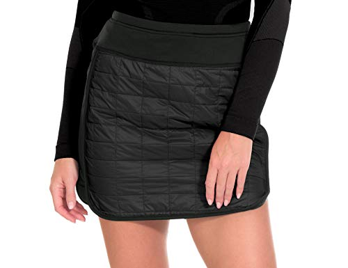 Little Donkey Andy Women's Lightweight Puffer Sport Skorts Warm Quilted Skirt Black XS