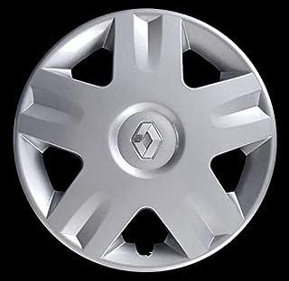 Renault Clio Scenic Twingo 1 Borchia Coppa Coppone Copri Cerchio 14 Logo Cromato