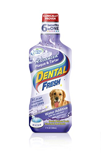 17oz, Dental Fresh Water Additive for Pets -$1.79(86% Off)
