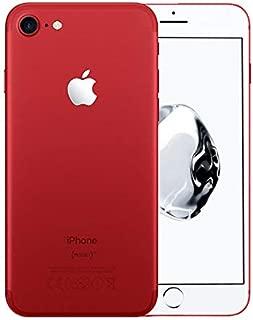 Apple iPhone 7, GSM Unlocked, 128GB - Red (Renewed)