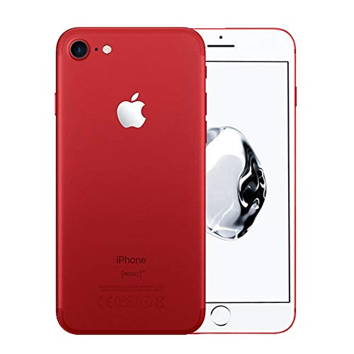 Apple iPhone 7, 128GB, Red - For AT\&T / T-Mobile (Renewed)